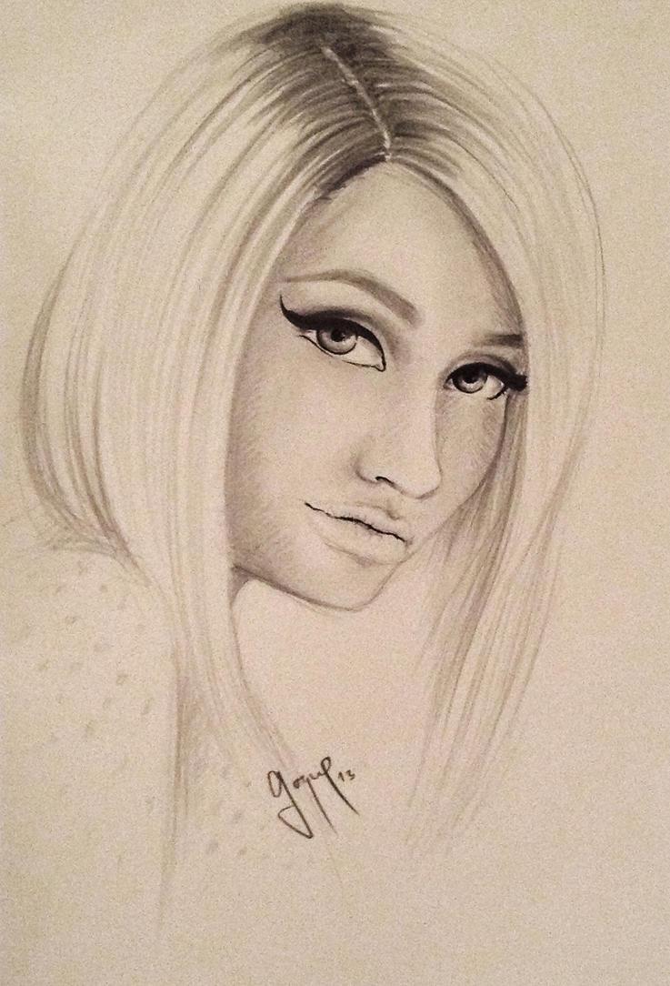Cartoon Nicki Minaj Drawing Viewing Gallery