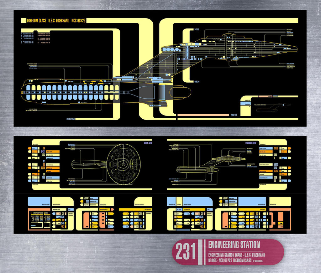 Engineering console by buzanorbi on deviantart - Star trek online console ...
