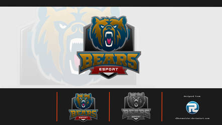 BEARS eSport Logo by r0bsnmeister