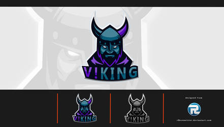V!KINGS eSport Logo by r0bsnmeister