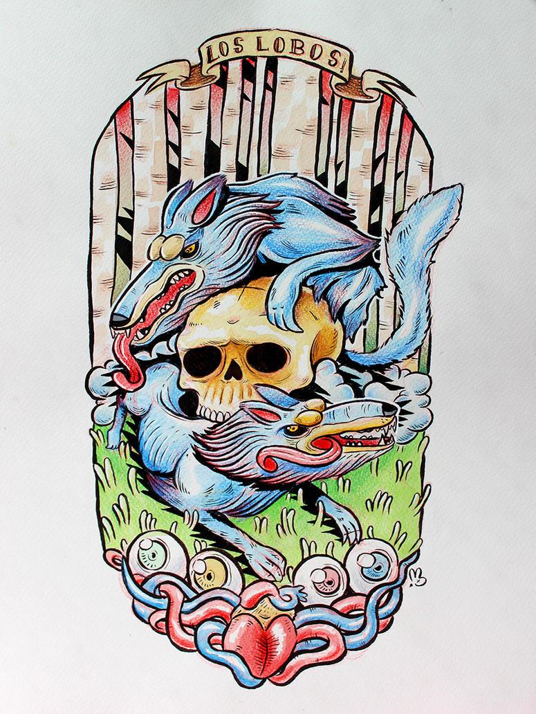 Los Lobos by UgandaLebre
