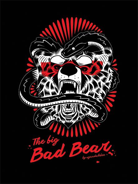 The Big Bad Bear by UgandaLebre