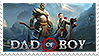 Dad Of Boy stamp by miikis