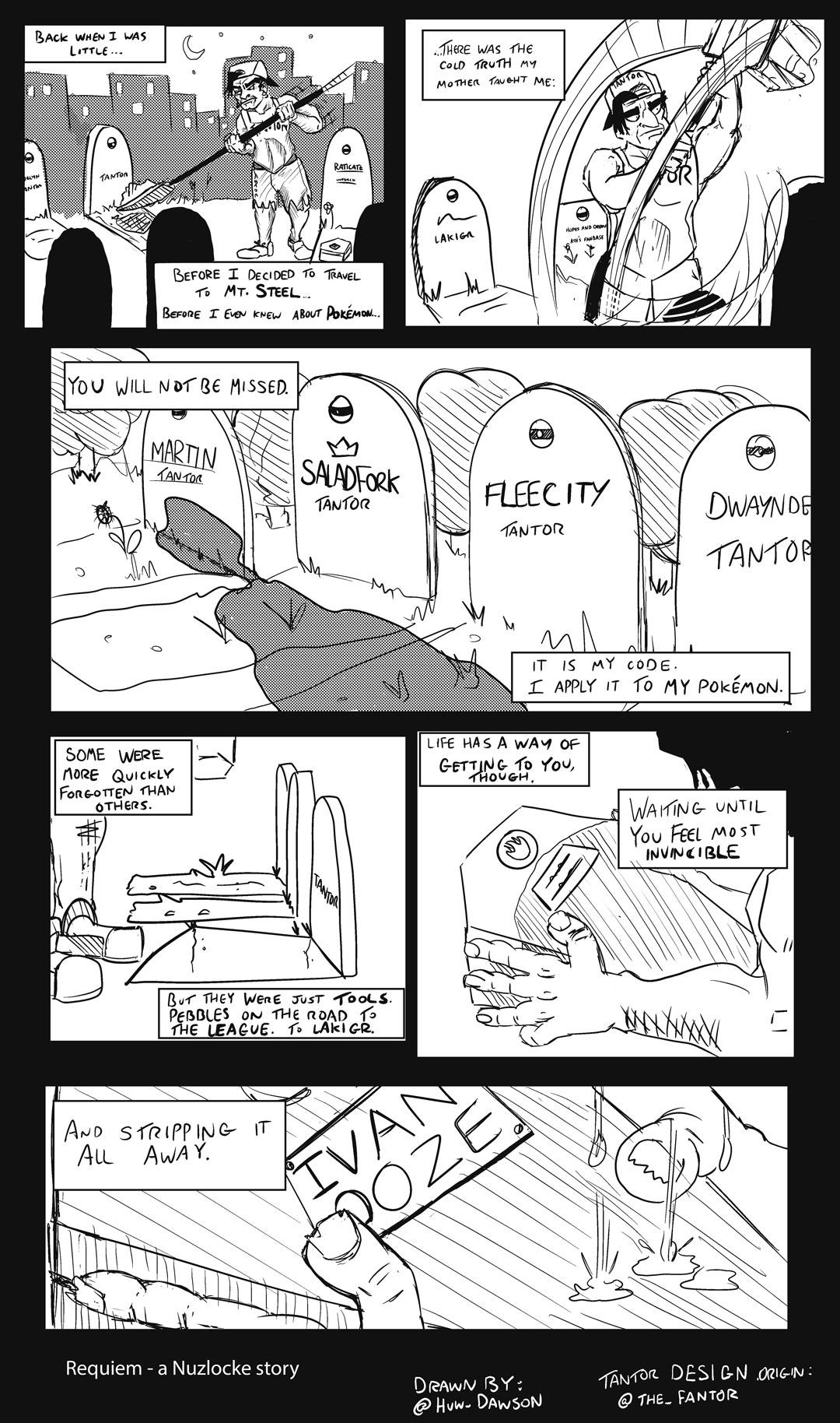 TFS Nuzlocke: Requiem for a Pokemon by YamiHuwgi on DeviantArt