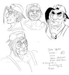 TFS Nuzlocke: Tantor sketches