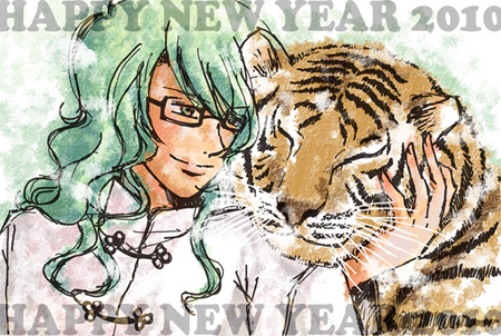 NEW YEAR CARD 2010 by tanuchan