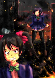 Attack on Nico by ppn