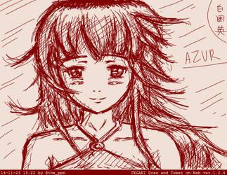 Tegaki Azur by ppn