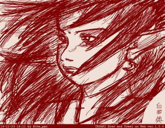 Tegaki Crying Elf by ppn