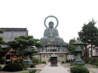 The Great Buddha of Takaoka by SayuriMVRomei