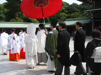 Japanese wedding by SayuriMVRomei