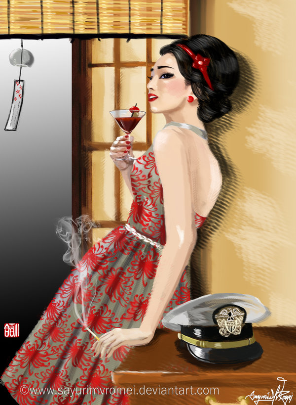 Variation on a Theme - A modern Madame Butterfly by SayuriMVRomei