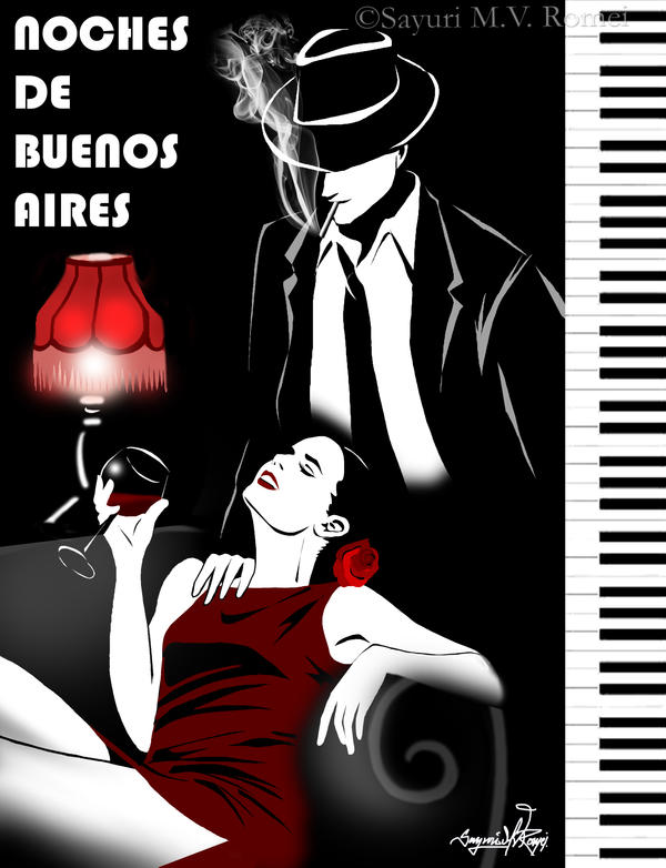 Noches de Buenos Aires - tribute to Fabian Perez by SayuriMVRomei