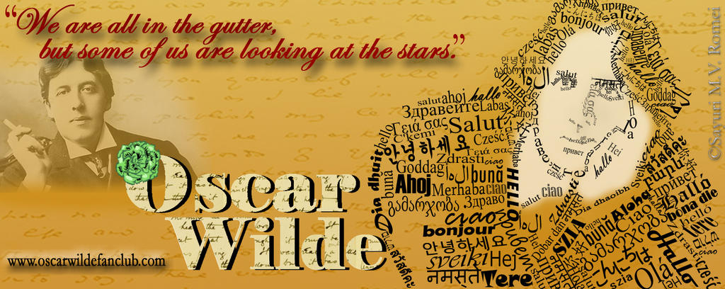 Oscar Wilde Fan Club banner by SayuriMVRomei