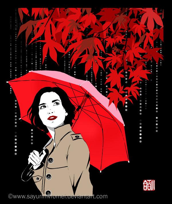 October - black version by SayuriMVRomei