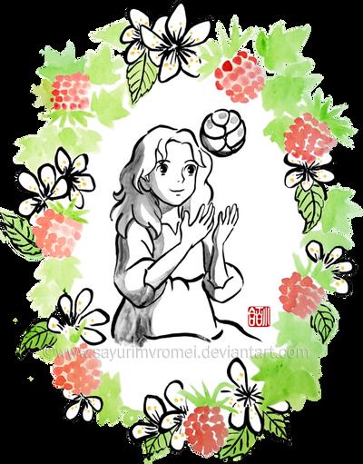 Arrietty - sumi-e