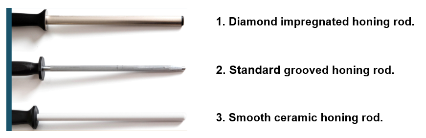 Types of Sharpening Steel/Rods