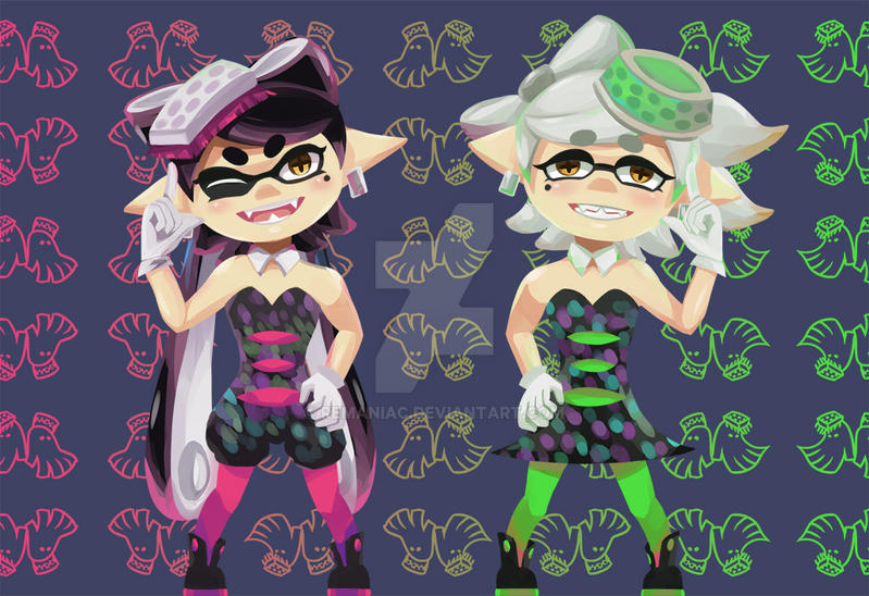 Squid Sisters by REManiac