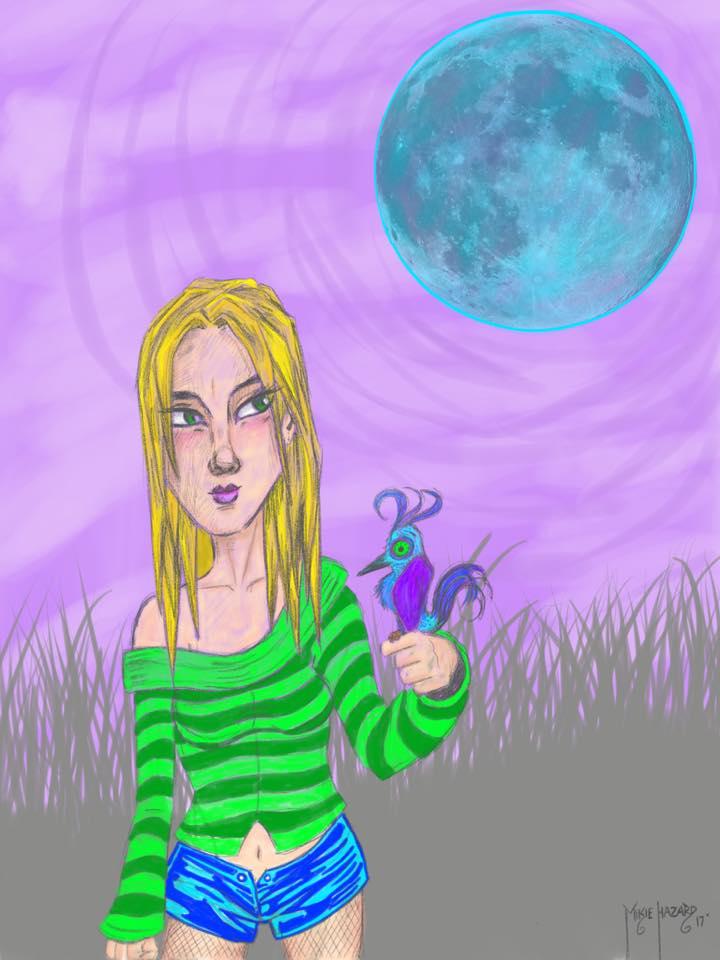 Doodle Mikie did last week by MikieHazard