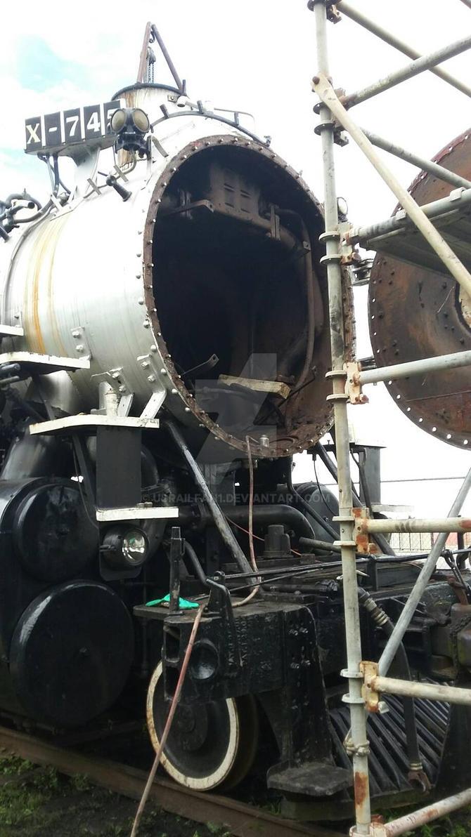 745 wi open smokebox by Usrailfan1
