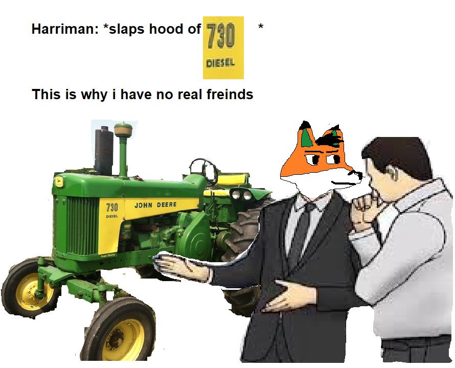Harriman meme by Usrailfan1