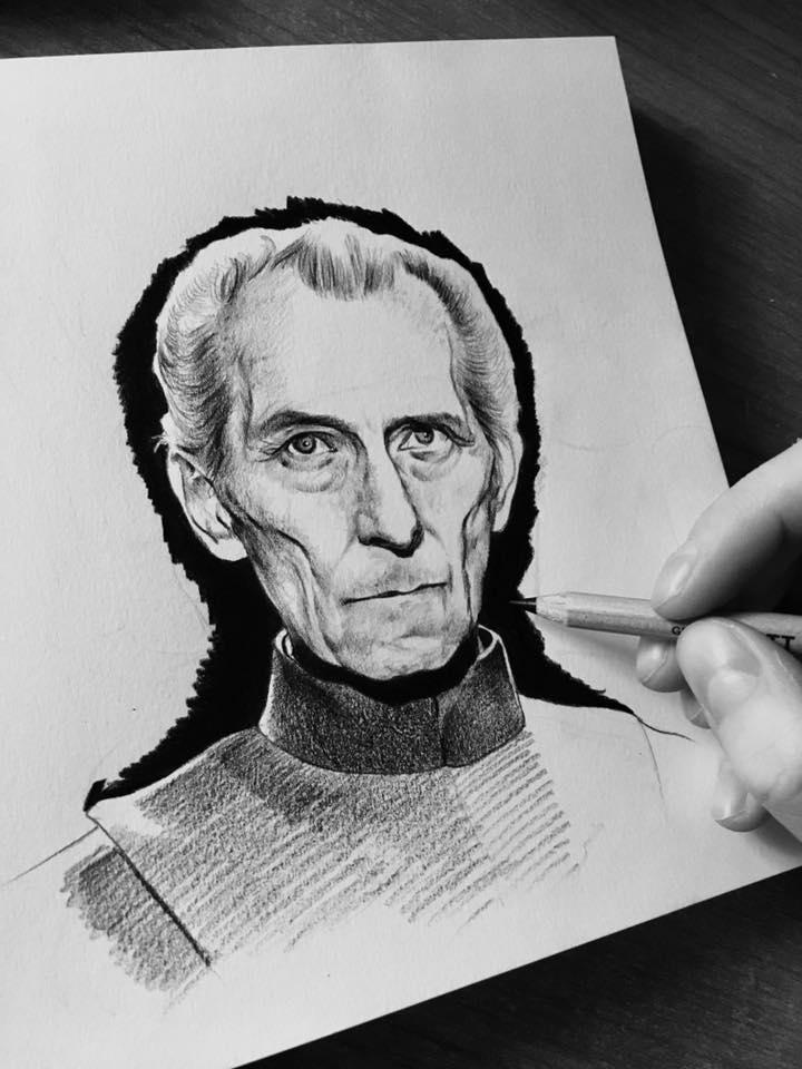 Governor Tarkin Sketch by Luca1992
