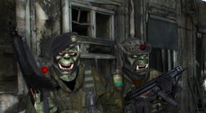 Orc Mercenaries by SkarabX
