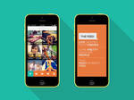 XXHDPI design for social app Android/iOS