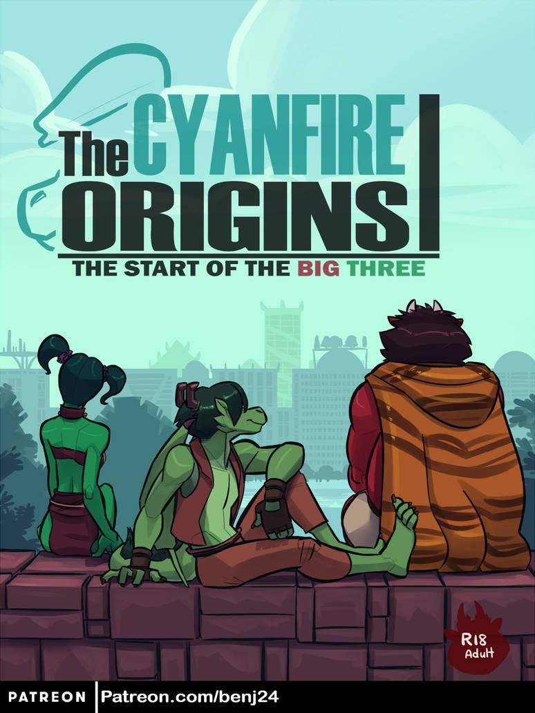 The Cyanfire Origins I (Cover)