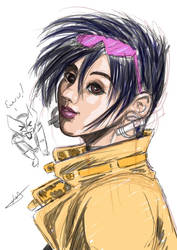 Ewww Sketch by ZhaxRa