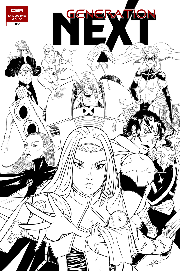 CBR - Next Gen X-Men Jam - Extra Final by ZhaxRa