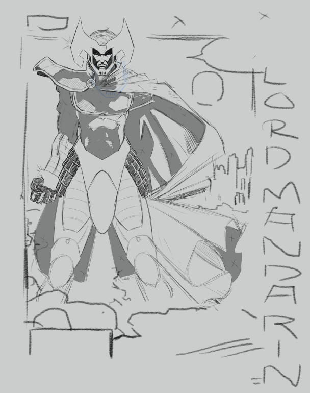 CBR X-Men Art Jam: R63 - Psylocke -Panel sketch 02 by ZhaxRa