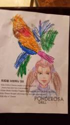 Restaurant doodles III by ZhaxRa