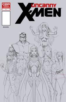 CBR Create an X-Men Team Sketch