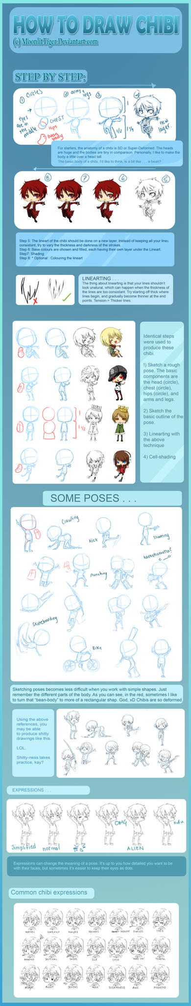 Mega Chibi Tutorial by Calvariae