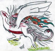 okami shiranui lugia by Suenta-DeathGod