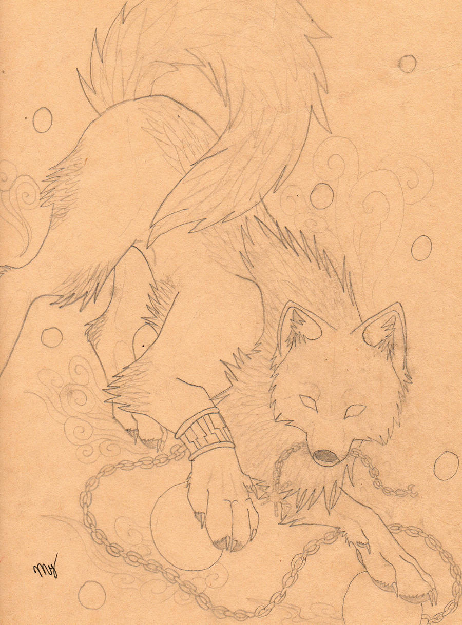 my painting sketch by Suenta-DeathGod
