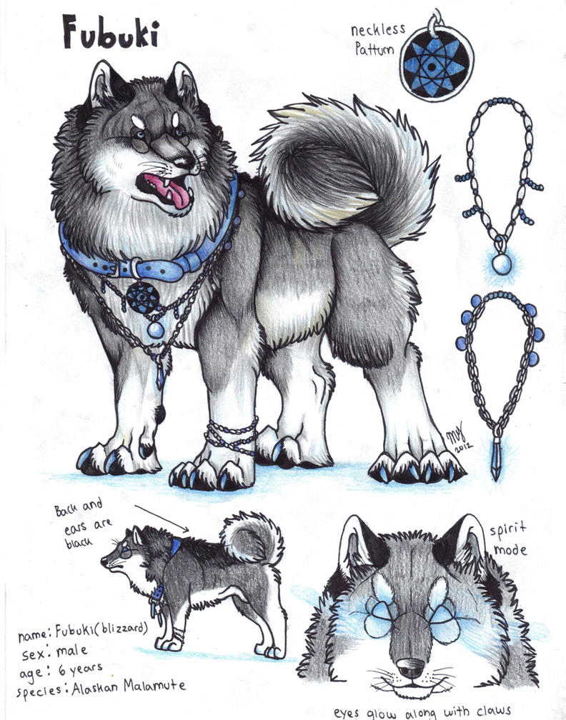 Simple Alaskan Malamute Chubby Adorable Dog - __fubuki___alaskan_malamute_by_suenta_deathgod-d4xv3tg  Collection_916070  .jpg