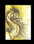 golden one ACEO