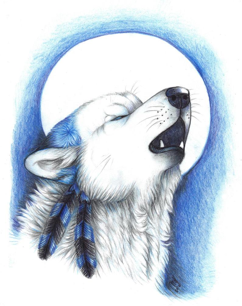 silent howl by Suenta-DeathGod