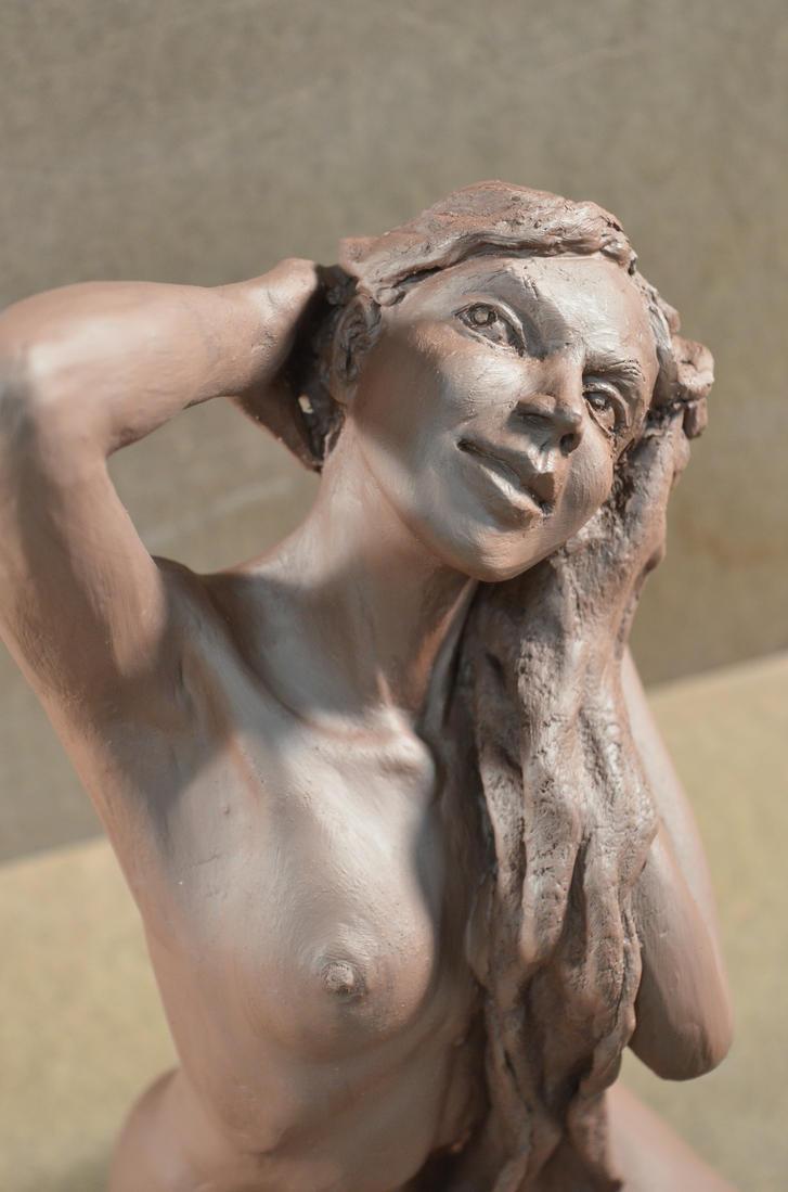 WIP: Hair (detail) by Observer14