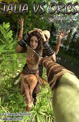 Talia Versus Orcs