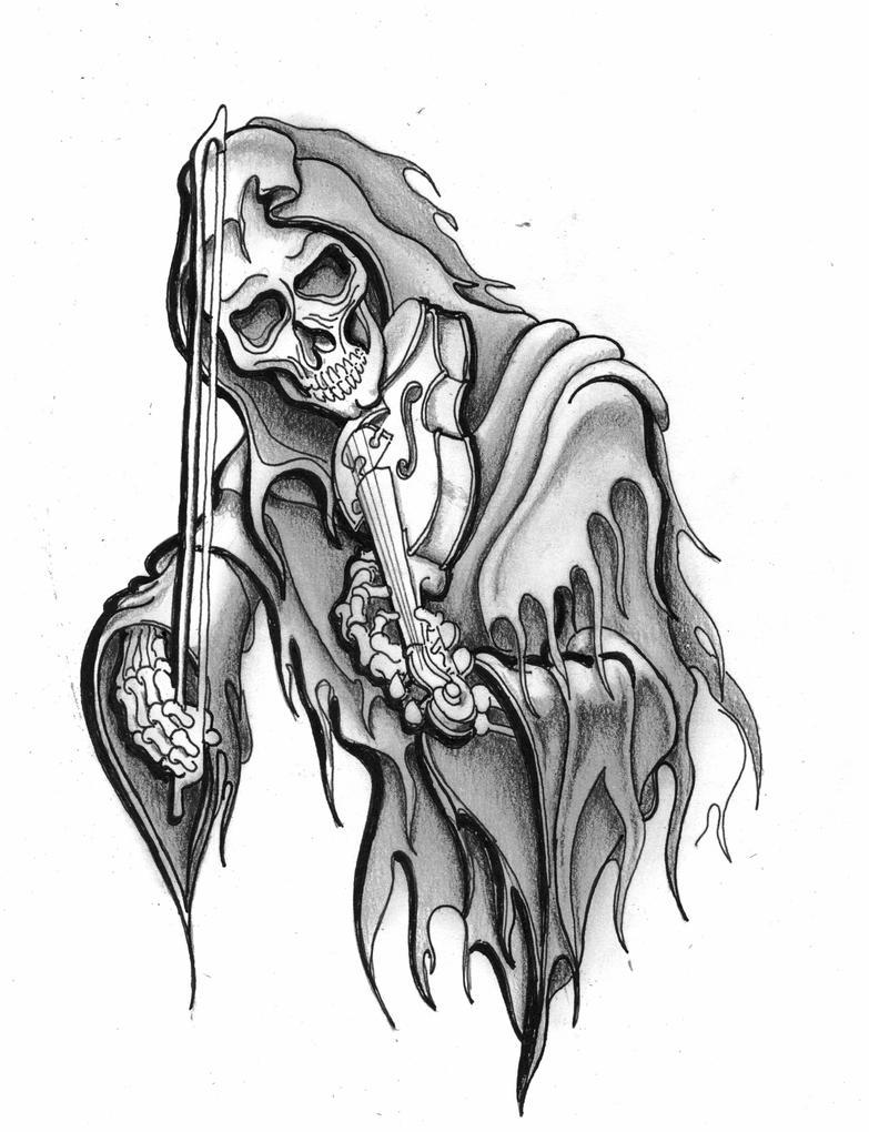Grim Reaper Drawings Viewing Gallery