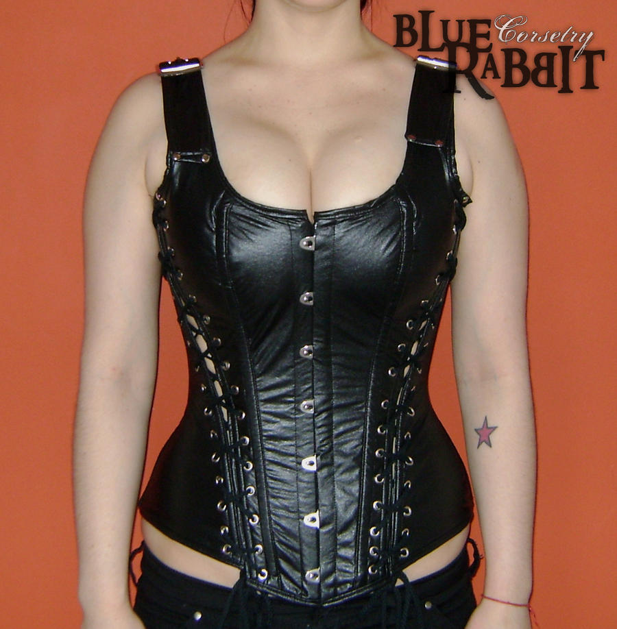super fetish corset frente by Limlint on DeviantArt