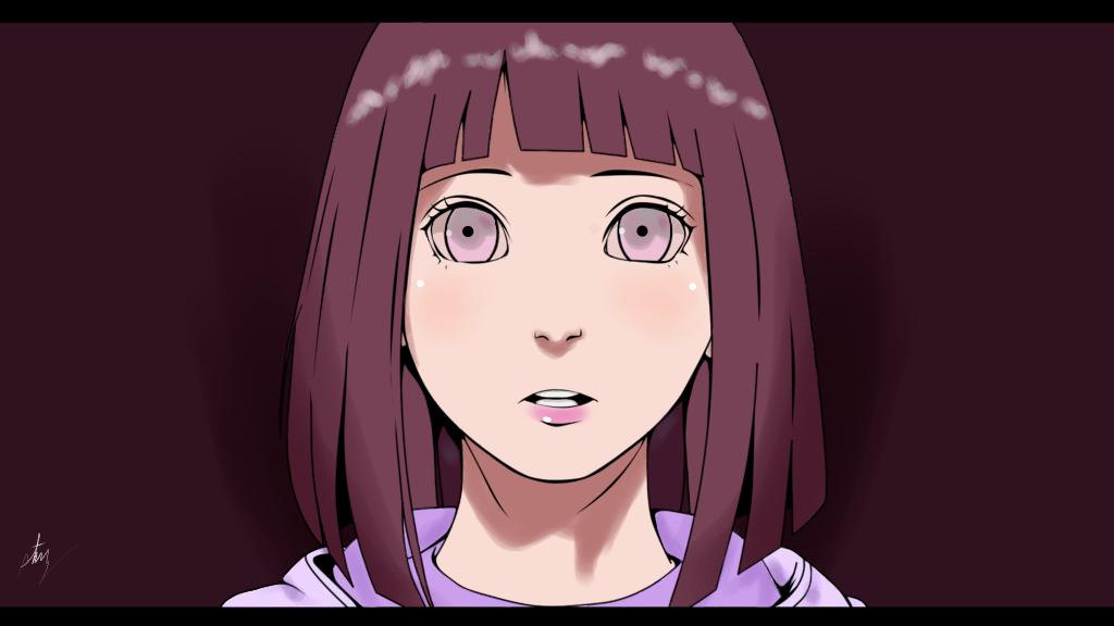 Hinata Hyuuga - Adult Hinata by passionatepremise