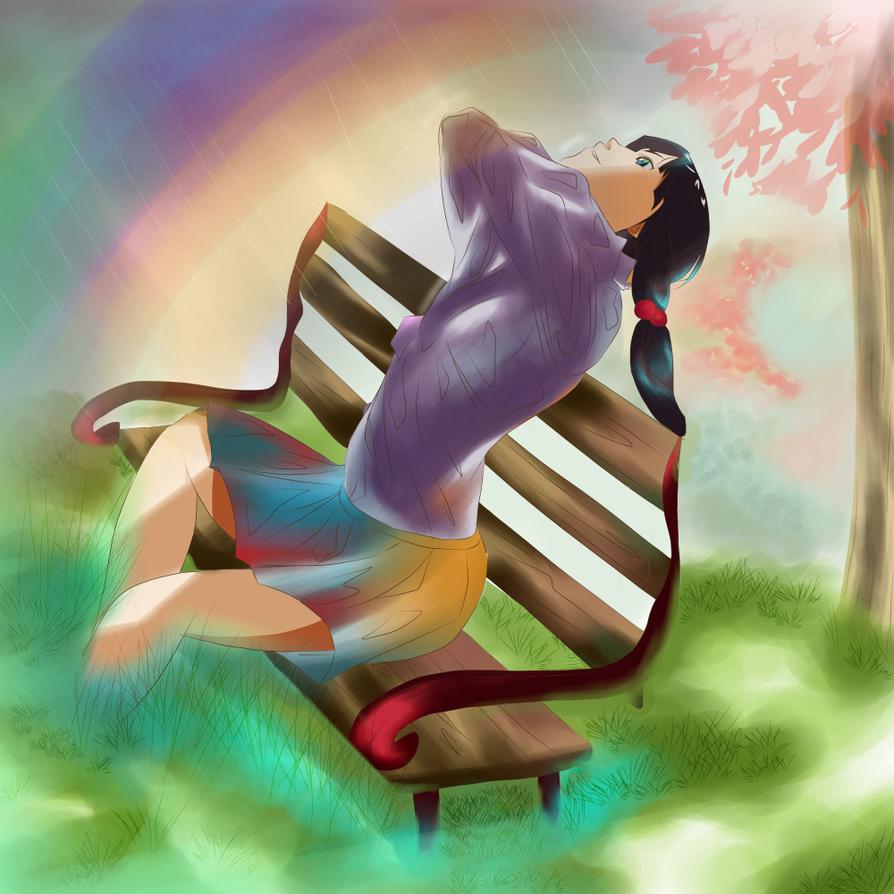 The Rainbow Wisher by macarons-n-marzipan