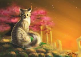 Basha cat by Irbisty