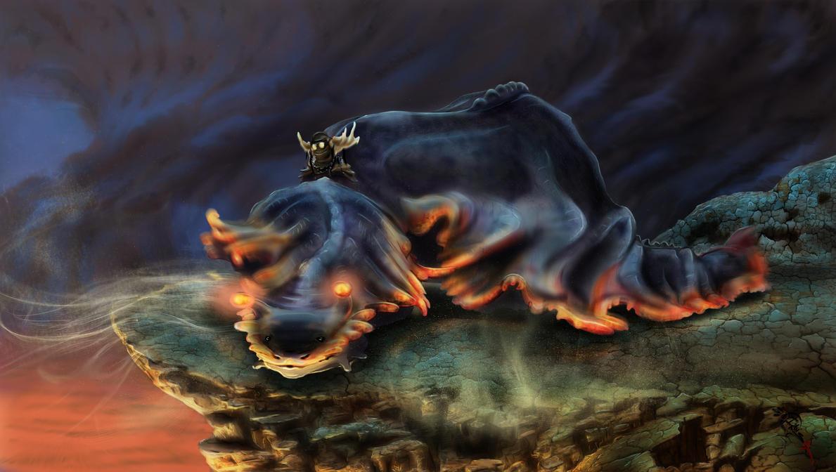 Slug Rider (Dream) by Irbisty