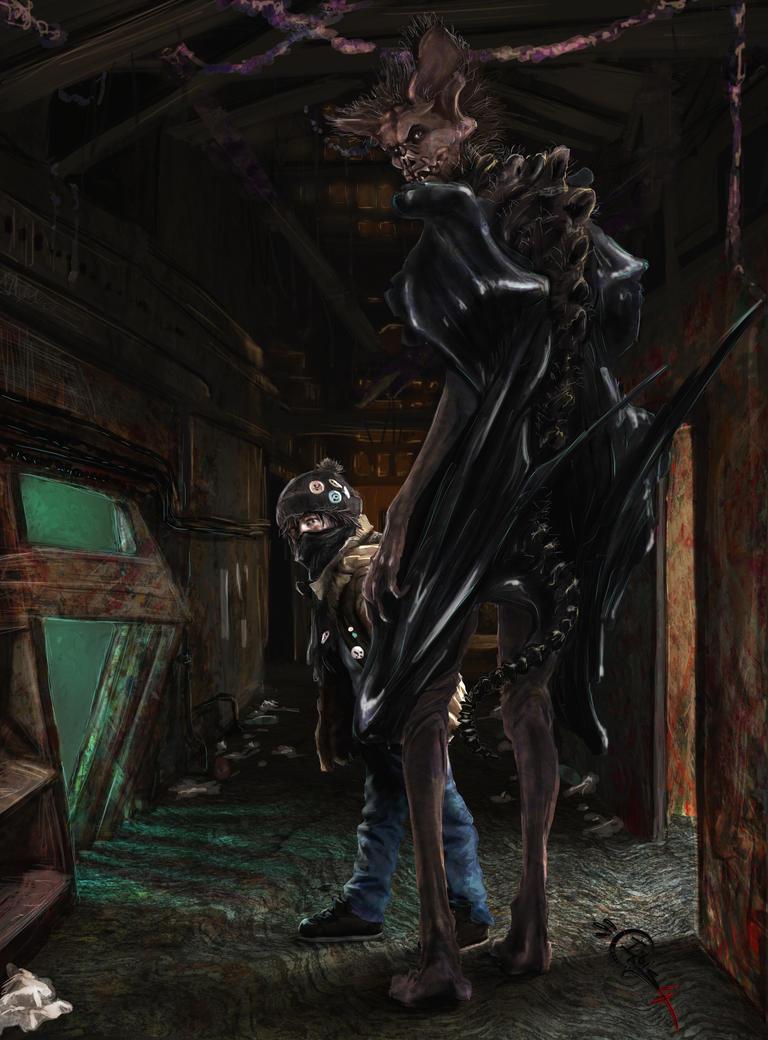 (2/2) Recorder / Dark Guardian (Dream) by Irbisty