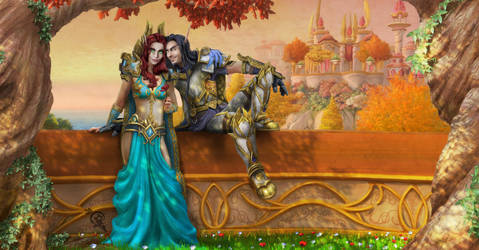 Odessai and  Kavarth  by Irbisty